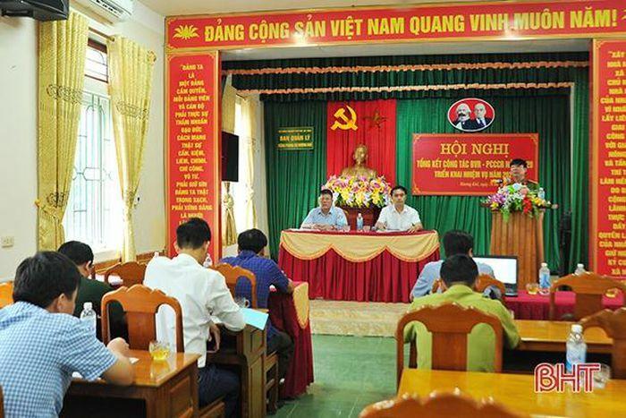 Lên phương án bảo vệ hơn 31 nghìn hecta rừng phòng hộ Hương Khê