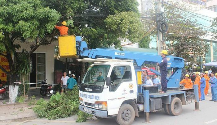 PC Quảng Bình đẩy mạnh công tác chỉnh trang cáp thông tin để xây dựng đô thị văn minh, hiện đại