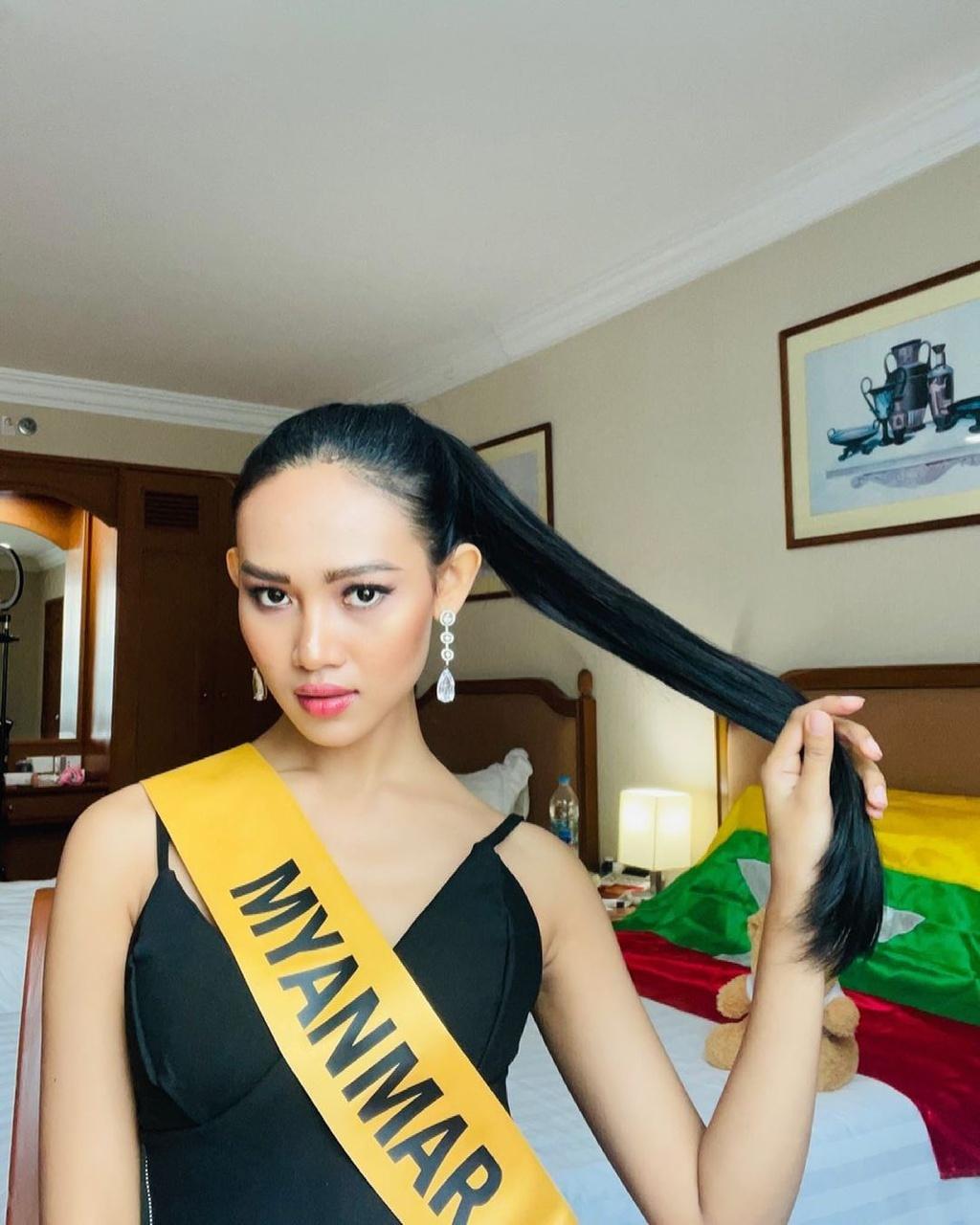 Hành trình của Hoa hậu Hòa bình Myanmar tại cuộc thi sắc đẹp