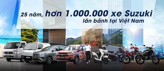 Suzuki thành công đưa ước mơ sở hữu xe đến khách hàng với hơn 1 triệu xe lăn bánh