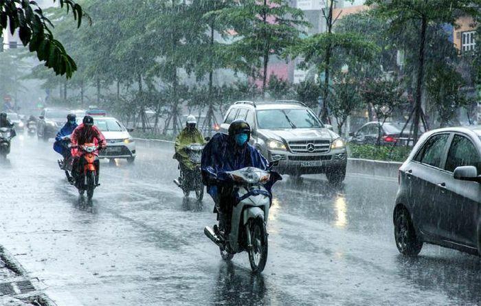 Thời tiết hôm nay 16/4: Hà Nội có mưa rào và dông, nhiệt độ thấp nhất 20 độ C