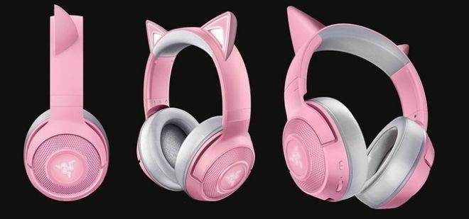 Razer Kraken BT Kitty Edition – Tai nghe không dây cho gamer nữ