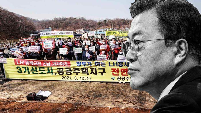 Đảng cầm quyền Hàn Quốc ngày càng mất uy tín