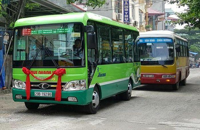 Transerco chính thức khai thác ba tuyến buýt mới ra ngoại thành