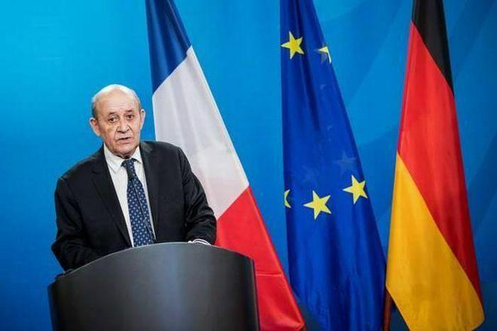 """Chẳng chịu """"kém miếng"""" Nga và Mỹ, Ngoại trưởng Pháp sang Ấn Độ"""