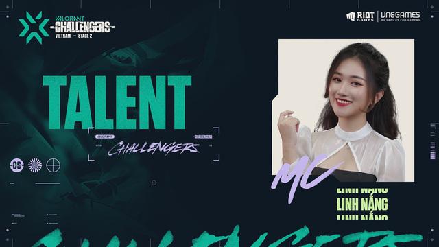"""Chiêm ngưỡng nhan sắc rạng ngời của Linh Nắng – Nữ MC giải đấu VALORANT đang khiến cộng đồng ráo riết """"tìm info"""""""