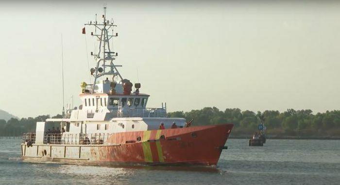 Kịp thời cứu nạn 6 thuyền viên tàu cá bị nạn trên biển