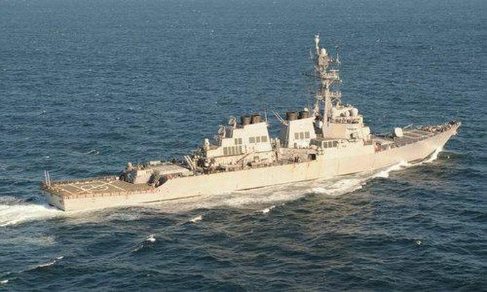 Tàu chiến Mỹ bất ngờ quay đầu khi Nga tập trận rầm rộ ở Biển Đen