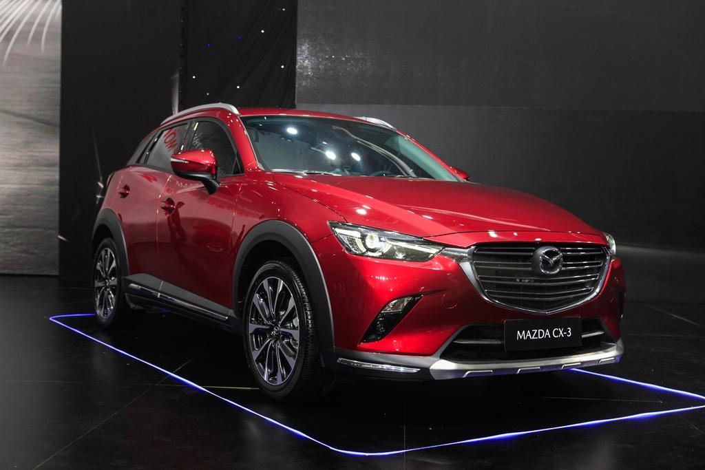 Mazda CX-3 nhiều công nghệ an toàn, thiết kế không mới
