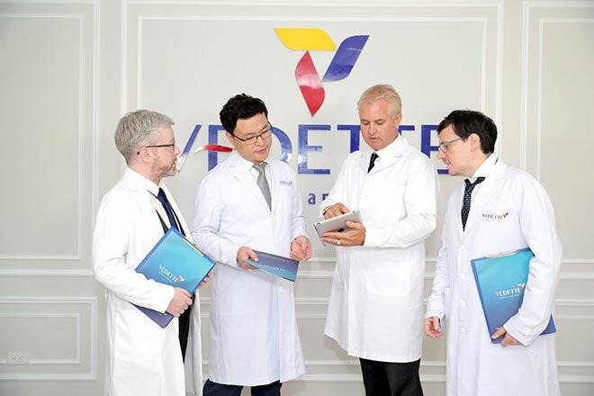 Tên tuổi tạo nên thương hiệu TMV Quốc tế Vedette
