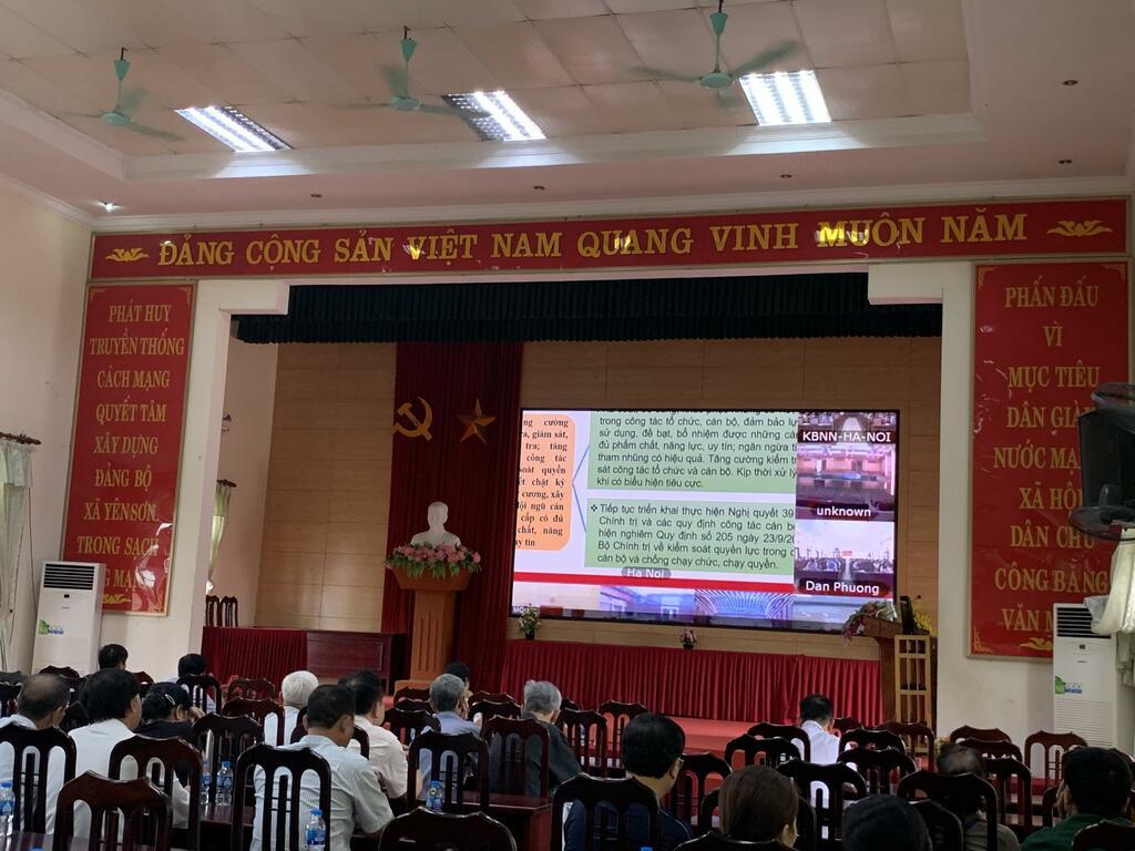 Yên Sơn – Quốc Oai: Xây dựng cơ sở vật chất, nâng cao các tiêu chí nông thôn mới nâng cao