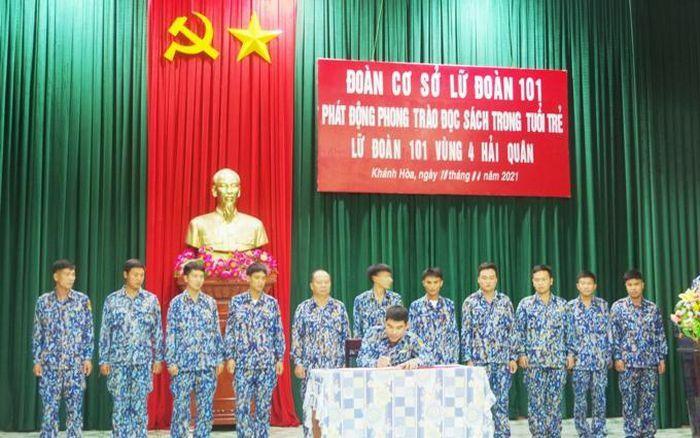 Tuổi trẻ Lữ đoàn 101 Hải quân phát động phong trào đọc sách