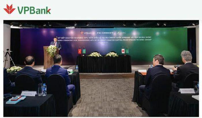 VPBank bán 49% vốn FE Credit cho Sumitomo Mitsui giá bao nhiêu?