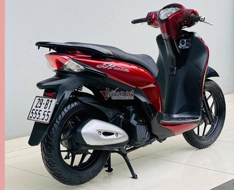 Honda SH Mode biển ngũ quý 5 được rao bán, giá hơn 200 triệu đồng