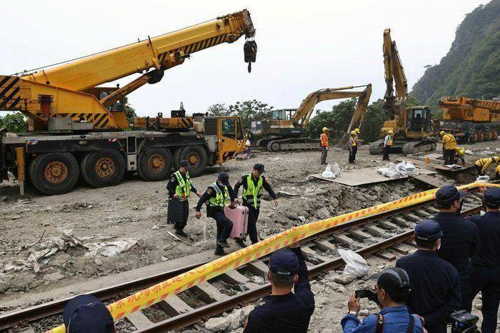 Quan chức Đài Loan nhận trách nhiệm vụ tai nạn tàu hỏa