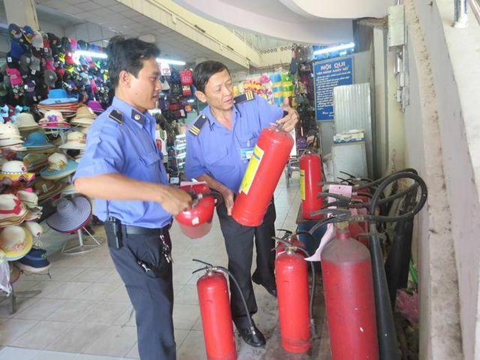 Các chợ đảm bảo an toàn phòng cháy, chữa cháy trong mùa nắng nóng