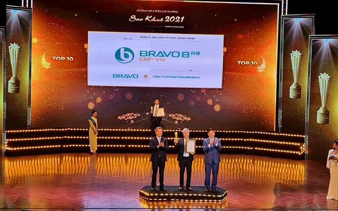BRAVO vươn mình cùng Sao Khuê – giải thưởng danh giá của ngành CNTT