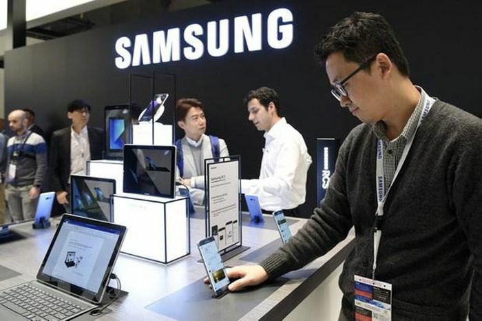 """Các """"đại gia"""" điện tử Hàn Quốc khởi sắc trong quý đầu năm"""