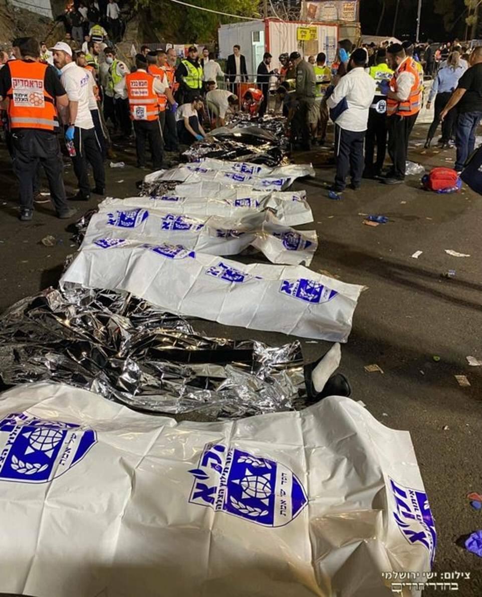 Israel: Thảm họa giẫm đạp ở lễ hội 10 vạn người, thương vong lớn