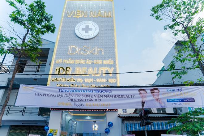 Đan Trường dự lễ khai trương văn phòng đại diện mới của iDr.Skin chi nhánh Cần Thơ