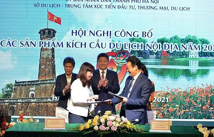 Hà Nội công bố hàng nghìn sản phẩm, dịch vụ kích cầu du lịch