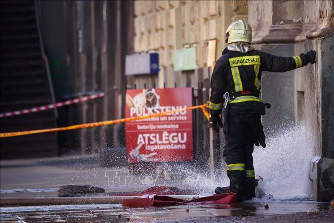 Cháy nhà nghỉ ở Latvia làm 8 người thiệt mạng