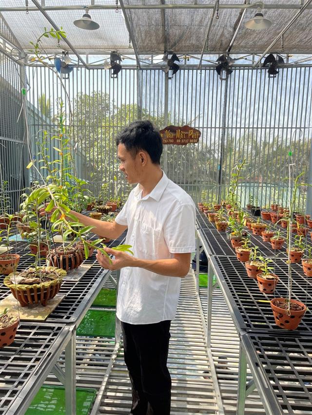 Hành trình đến với hoa lan của chàng trai Trần Khánh Mãi