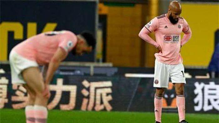 Sheffield United cân bằng kỷ lục xuống hạng sớm nhất tại Premier League
