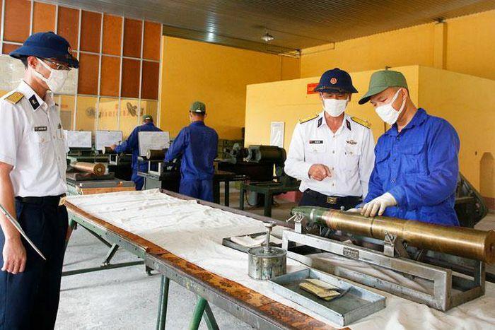 Kho 858 – Cục Kỹ thuật Hải quân: Nâng cao chất lượng công tác kỹ thuật