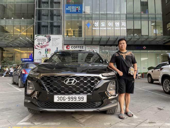 Hyundai Santa Fe bốc biển ngũ quý 9 hét giá gần 4 tỷ đồng