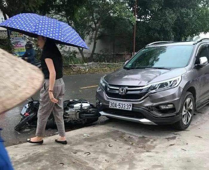 Phú Thọ: Hai mẹ con tử vong thương tâm sau va chạm với ô tô con