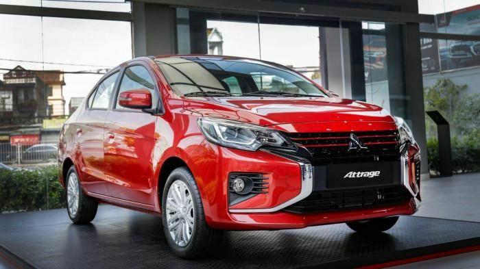 """Vì sao Mitsubishi Attrage """"chen chân"""" vào Top 10 xe bán chạy?"""