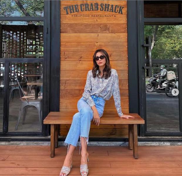 """Cơn sốt quần jeans càn quét streetstyle sao Việt: Hà Tăng khí chất ngời ngời, Đồng Ánh Quỳnh """"ngọt nước"""" hơn tuần trước"""
