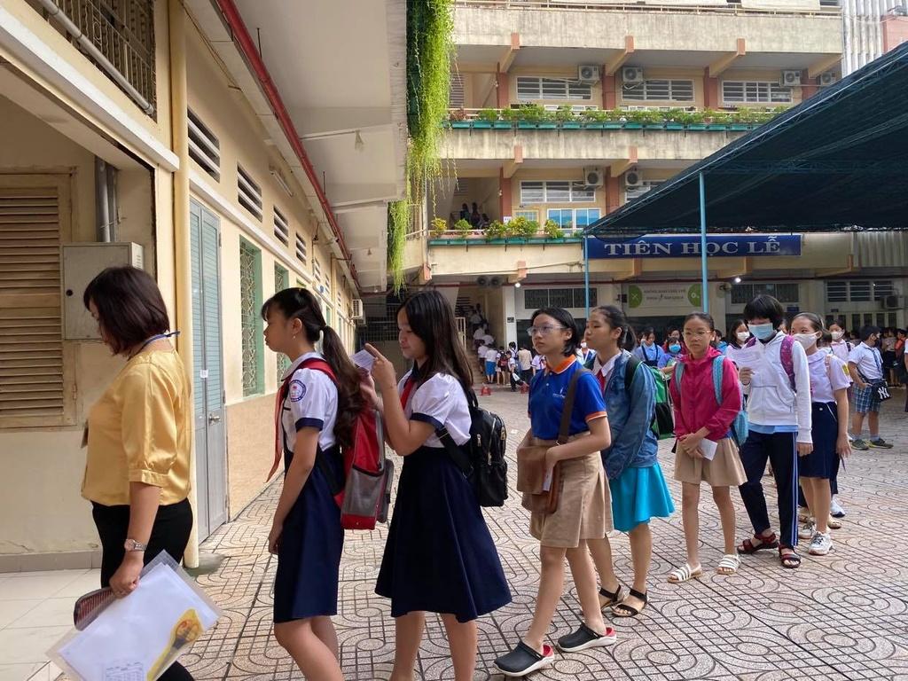 Công bố chỉ tiêu tuyển sinh lớp 6 vào trường 'hot'