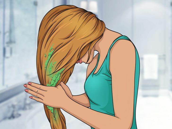 Cách hay dùng sữa, nước vo gạo, trà xanh… làm tóc mềm mại