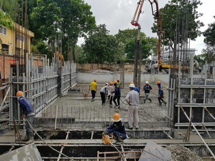 Hà Nội bảo đảm an toàn cho các công trình thi công trong mùa mưa bão