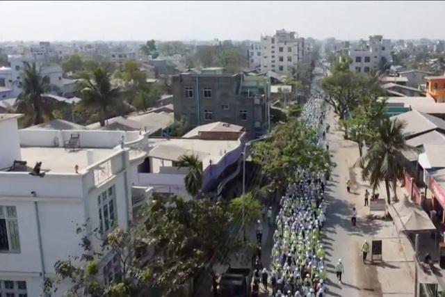 Quân đội Myanmar dùng UAV Trung Quốc ứng phó biểu tình