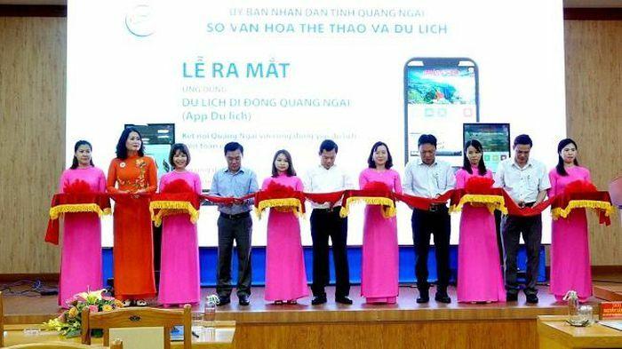 Quảng Ngãi ra mắt ứng dụng du lịch di động để phục vụ du khách