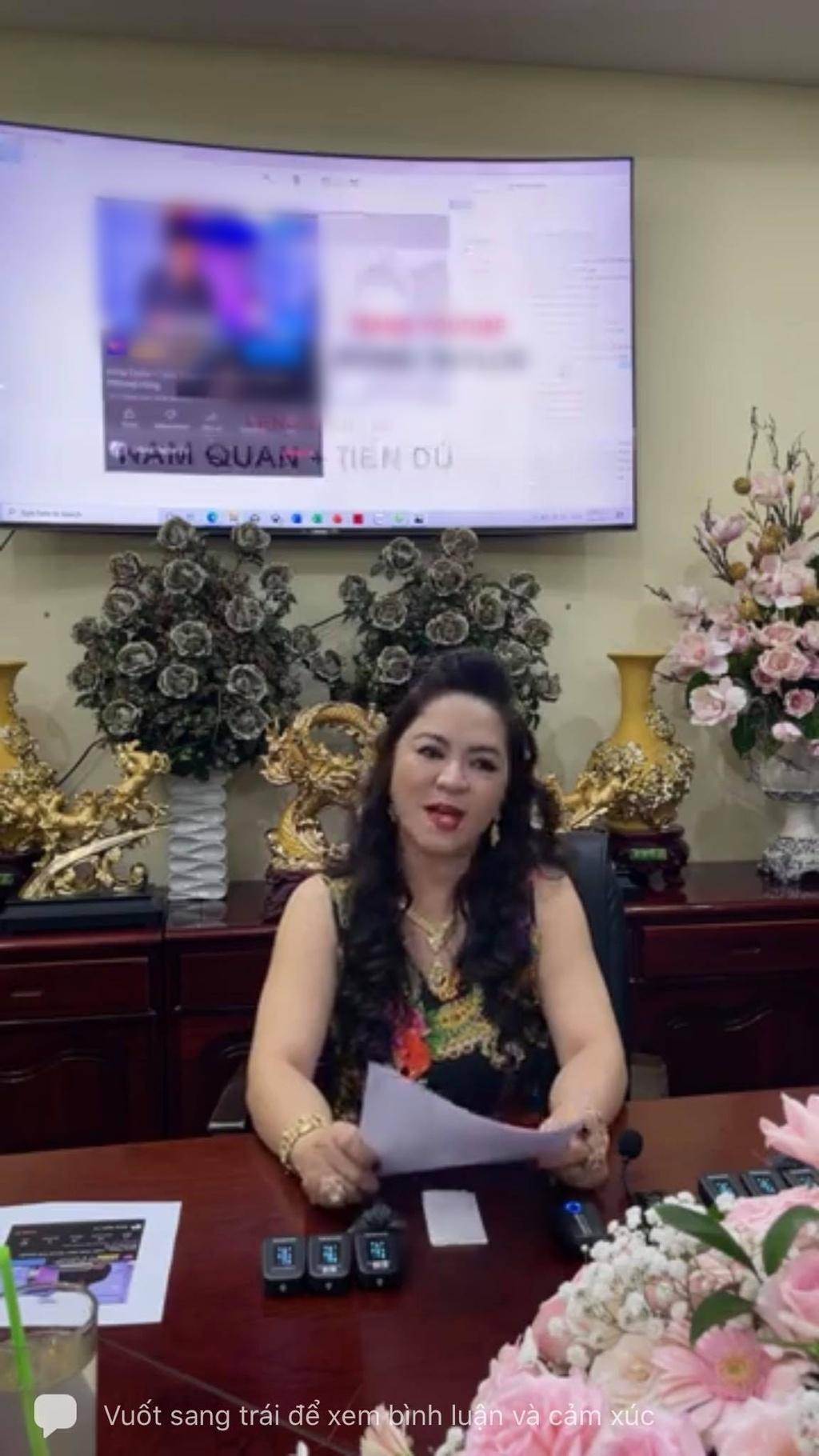 Bà Phương Hằng – vợ ông Dũng lò vôi gửi lời nhắn đến 8 người vợ của ông Yên, tiết lộ tin nhắn bày tỏ tình cảm của ông Yên dành cho mình!