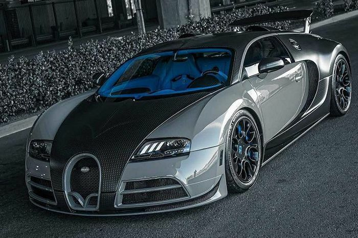"""Bugatti Veyron độ Mansory """"chất phát ngất"""" chất nhờ West Coast Customs"""