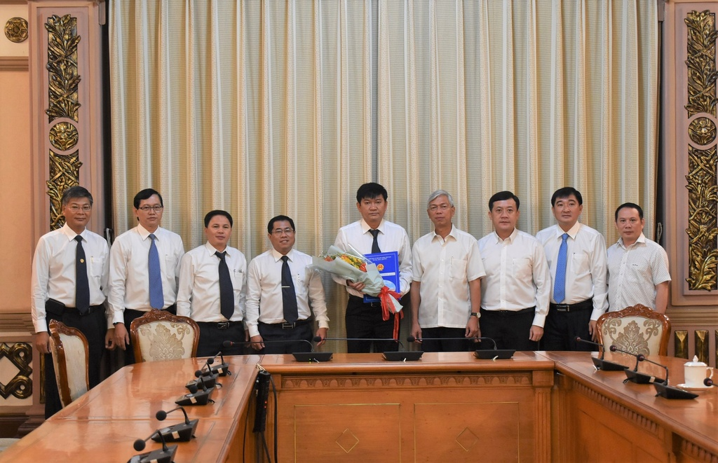 Tổng công ty Cấp nước Sài gòn có Tổng giám đốc sau gần 3 năm kiện toàn nhân sự