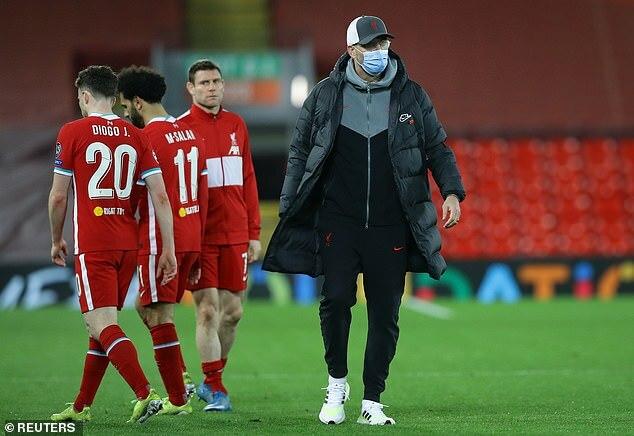 Klopp nói gì khi Liverpool bị loại khỏi Champions League?