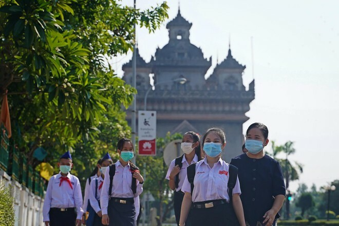 Lào phong tỏa một số địa điểm ở Thủ đô Vientiane vì số ca nhiễm Covid-19 tăng vọt