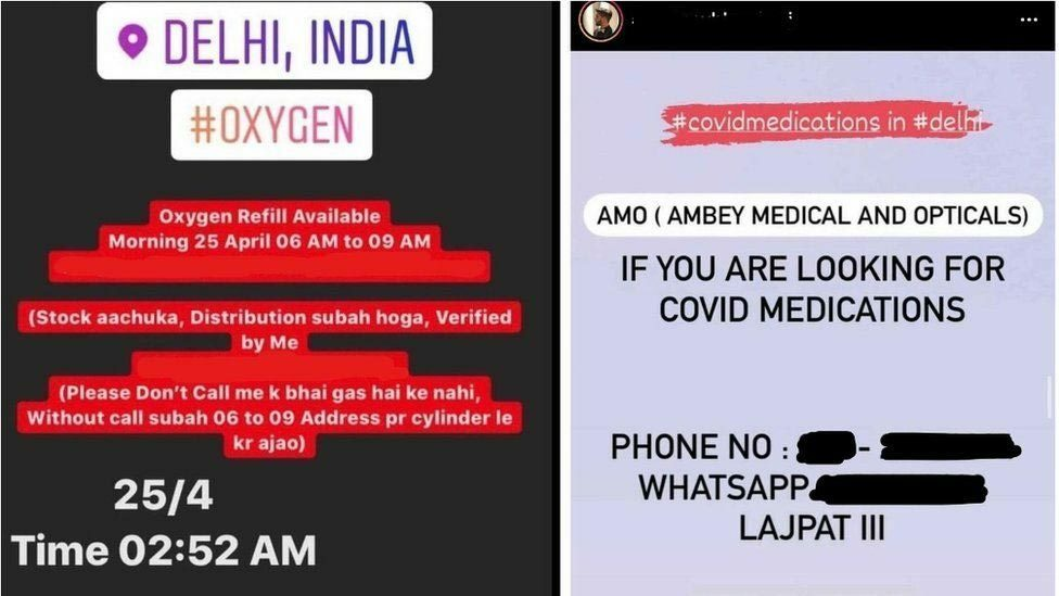 """Những tin nhắn quyết định sống – chết giữa """"sóng thần"""" Covid-19 ở Ấn Độ"""
