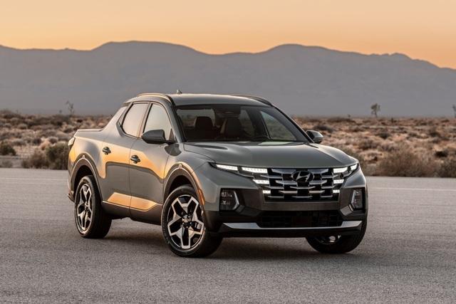Hyundai Santa Cruz trình làng, giống như phiên bản bán tải của Tucson