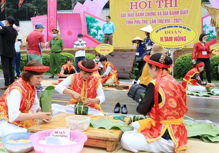 Hội thi tôn vinh văn hóa ẩm thực đất Tổ Hùng Vương