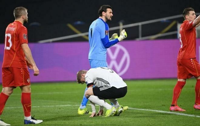 ĐT Đức thua sốc đội hạng 65 thế giới vòng loại World Cup, lập kỷ lục tệ nhất 20 năm