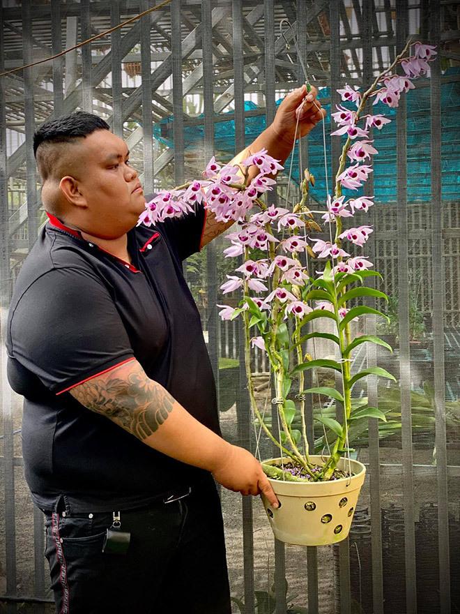 """Nghệ nhân Tống Duy Thức: """"Hoa lan thì dễ chăm, nhưng lan đột biến thì không"""""""