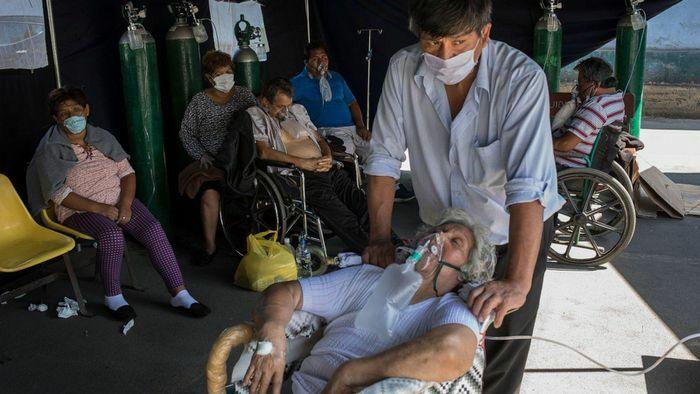 """Biến chủng virus đang """"tàn sát"""" người dân Nam Mỹ"""