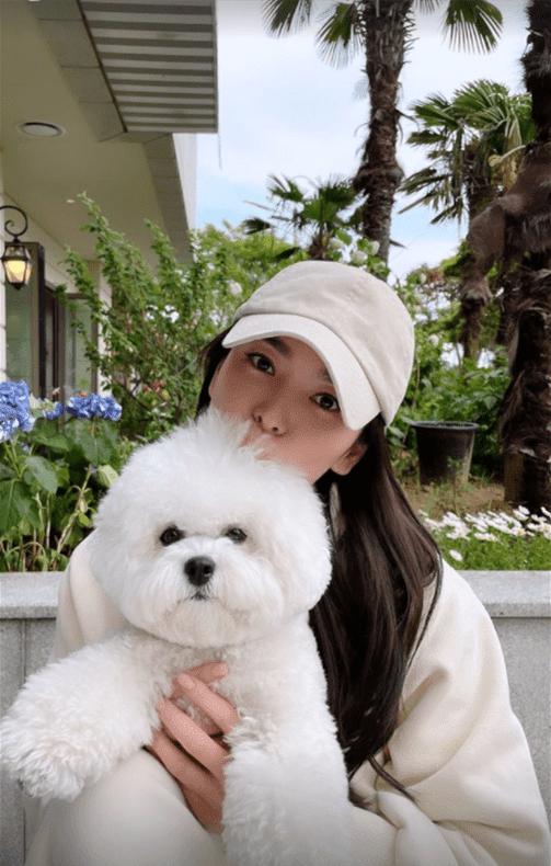 """""""Chụp sương sương"""" cùng cún cưng, Song Hye Kyo khiến nhiều người bất ngờ trước nhan sắc cận mặt ở tuổi 40"""